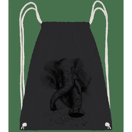 Aggro Elefant - Turnbeutel