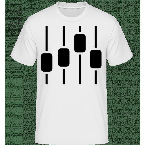 Lautstärkepegel Symbol - Shirtinator Männer T-Shirt