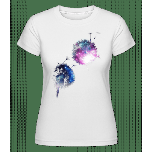 Universum Blumen - Shirtinator Frauen T-Shirt