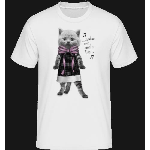 Tanzende Katze - Shirtinator Männer T-Shirt