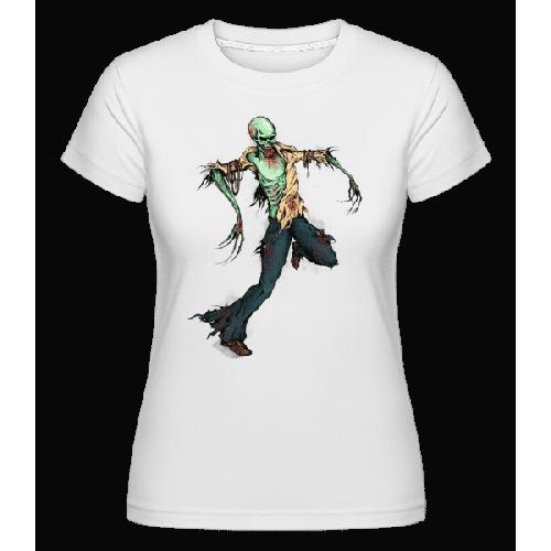 Gruseliger Zombie - Shirtinator Frauen T-Shirt