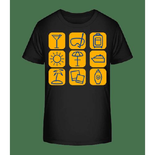 Sommerferien - Kinder Premium Bio T-Shirt
