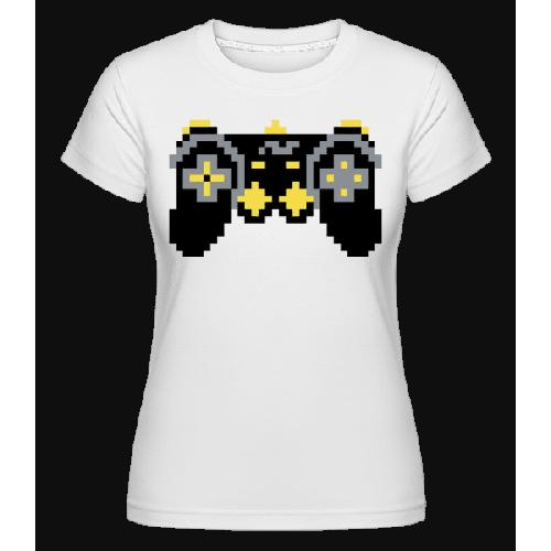 Konsolen Controller Oldschool Pixel - Shirtinator Frauen T-Shirt