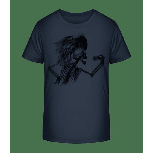 Singendes Skelett - Kinder Premium Bio T-Shirt