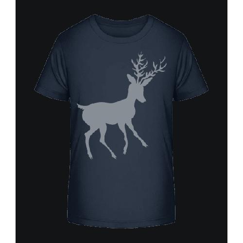 Weihnachtsrentier - Kinder Premium Bio T-Shirt