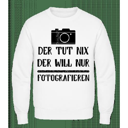 Der Tut Nix Nur Fotografieren - Männer Pullover