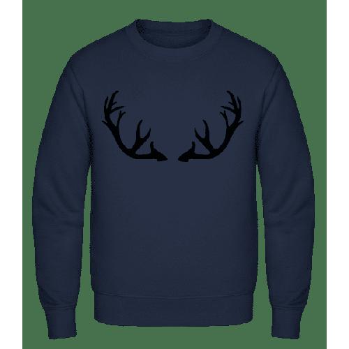 Hirschgeweih - Männer Pullover