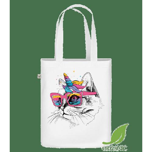 Einhorn Party Katze - Bio Tasche