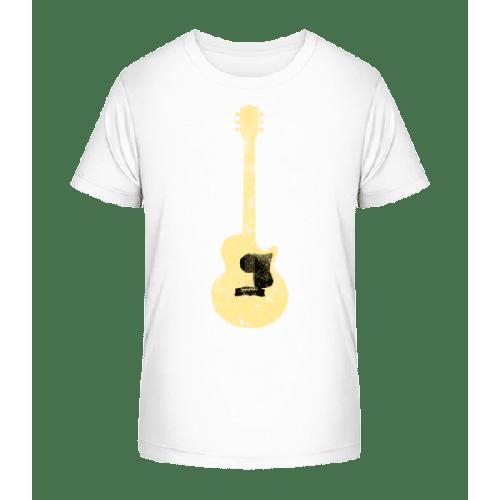 Gitarre Durchsichtig - Kinder Premium Bio T-Shirt