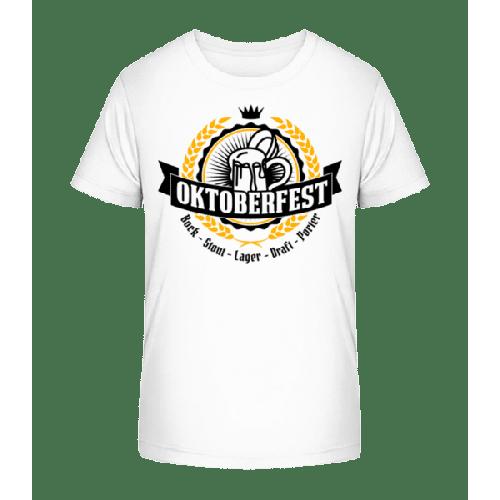 Oktoberfest Maß - Kinder Premium Bio T-Shirt