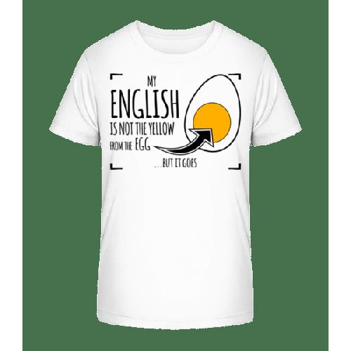 My Englisch - Kinder Premium Bio T-Shirt