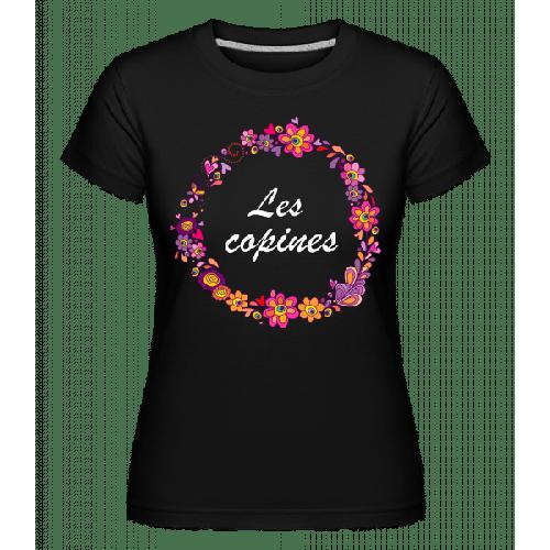 Les Copines Fleurs - Shirtinator Frauen T-Shirt