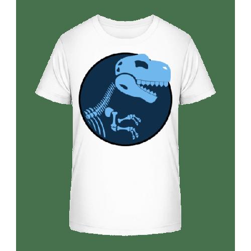 Dinosaurier Logo - Kinder Premium Bio T-Shirt