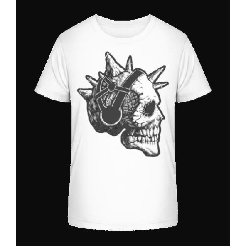 Punk Totenkopf - Kinder Premium Bio T-Shirt