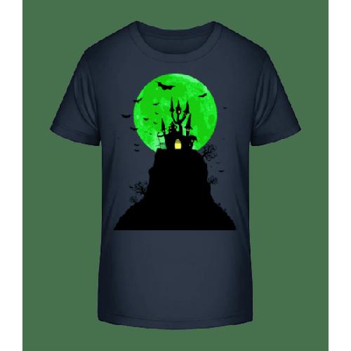 Geisterschloss - Kinder Premium Bio T-Shirt