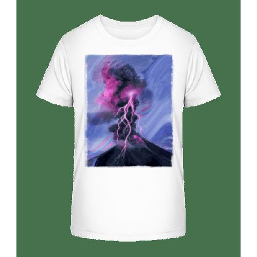 Neon Gewitter - Kinder Premium Bio T-Shirt