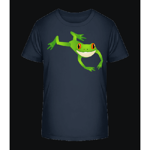 Relaxing Frog - Kinder Premium Bio T-Shirt