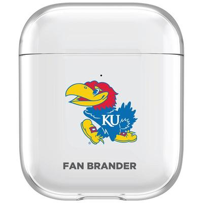 Kansas Jayhawks Clear Air Pods Case