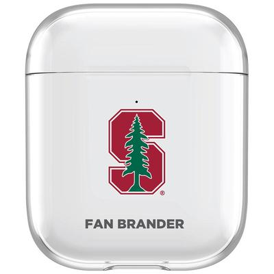 Stanford Cardinal Clear Air Pods Case