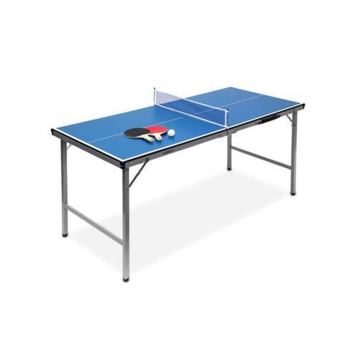 Klappbare Tischtennisplatte blau