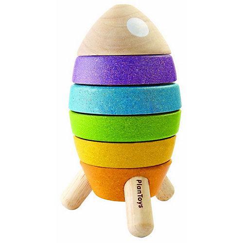 Stapelspielzeug Stapelrakete Stapelspielzeug mehrfarbig