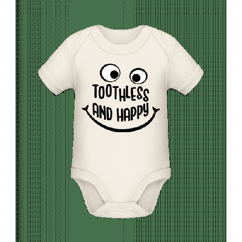 Toothless And Happy - Baby Bio Strampler