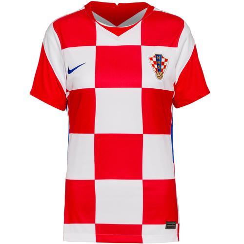 Nike Kroatien 2021 Heim Trikot Damen in white-bright blue, Größe XS