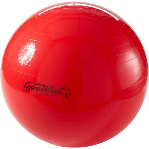 LEDRAGOMMA Gymnastikball Pezzi 75 cm, Größe ONE SIZE in Rot