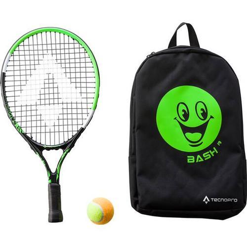 TECNOPRO Kinder Tennisschläger Bash 19, Größe ONE SIZE in Schwarz