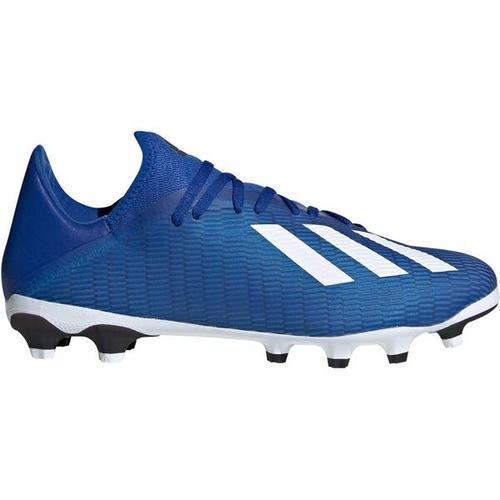 ADIDAS Herren Fußballschuhe Rasen / Kunstrasen X 19.3 MG, Größe 42 in Blau
