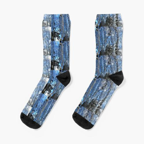 Eiszapfen-Fusion Socken