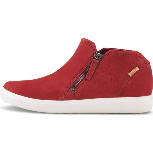 Ecco, Boots Soft 7 W in rot, Boots für Damen Gr. 37