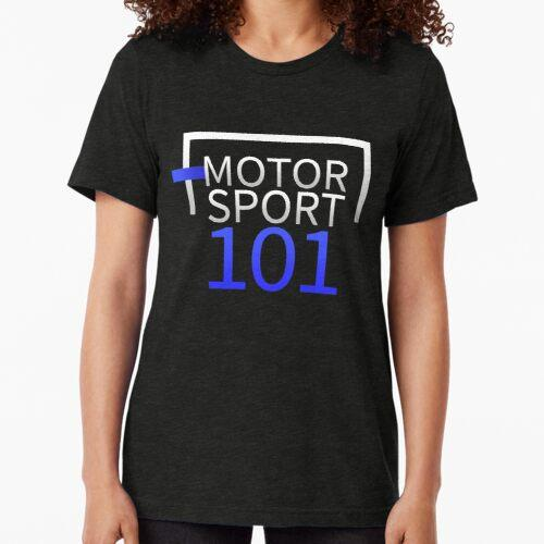 Motorsport101 Licht Logo Vintage T-Shirt