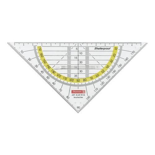 10er-Pack Geometrie-Dreieck 16 cm, Brunnen