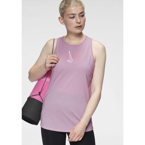 Nike Yogatop Dry Tank Db Yoga rosa Damen Trägertops Tops