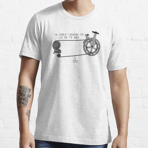 MEINE EINZIGE KETTE IST MEIN FAHRRAD Essential T-Shirt