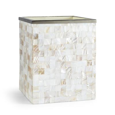 Mother-of-pearl Waste Basket - F...