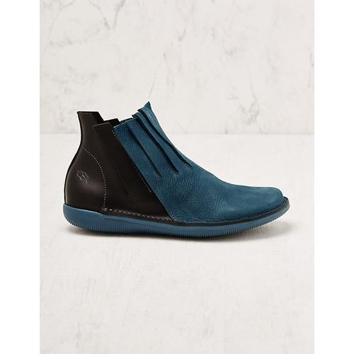 Loints of Holland Damen Stiefeletten Oliana petrol Boots