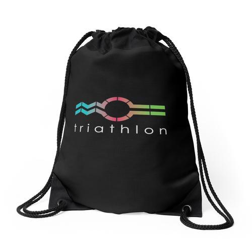 Triathlon_Swim Bike Run Rucksackbeutel