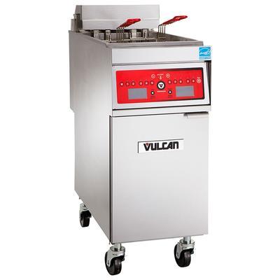 Vulcan 1ER85AF Electric Fryer - (1) 85 lb Vat, Floor Model, 208v/3ph