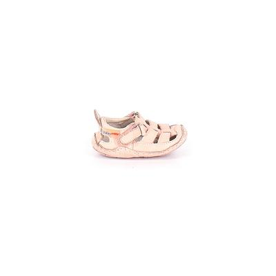 Riley Roos Flats: Pink Solid Sho...