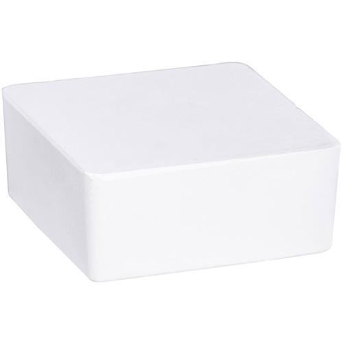 Wenko Raumentfeuchter Cube Blau 500 g, 2er Set - Gehäuse: Blau, Calciumchlorid: Weiß, Korb: