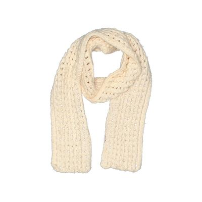 Scarf: White Solid Accessories