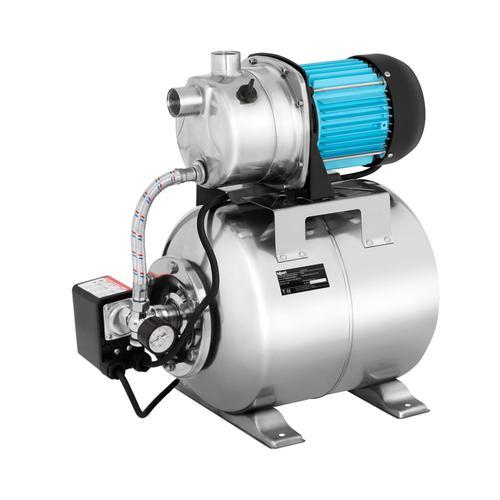 hillvert Hauswasserwerk - 3.100 L/h - 1.000 W - Edelstahl HT-ROBSON-JP1000CS