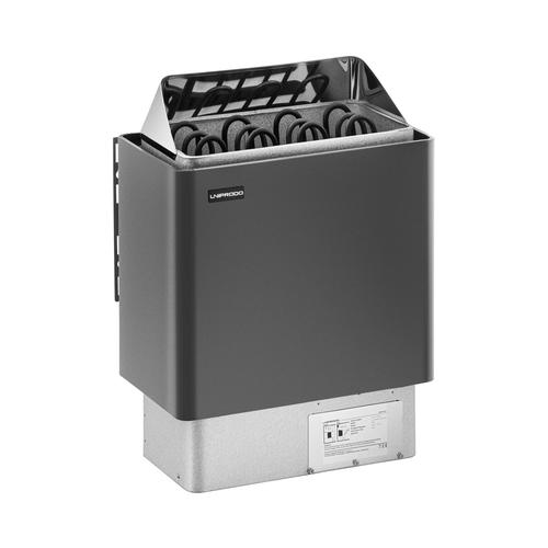 Uniprodo Saunaofen - 6 kW - 30 bis 110 °C UNI_SAUNA_G6.0KW