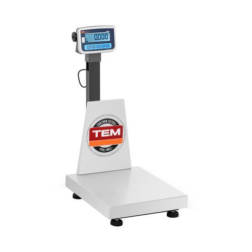 TEM Plattformwaage - geeicht - 150 kg / 50 g - antistatisch BEK+C040X050150-B1