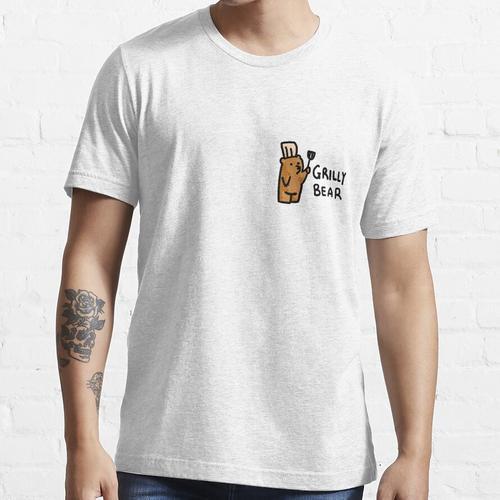 GRILLY BEAR - DER GRILLMEISTER Essential T-Shirt