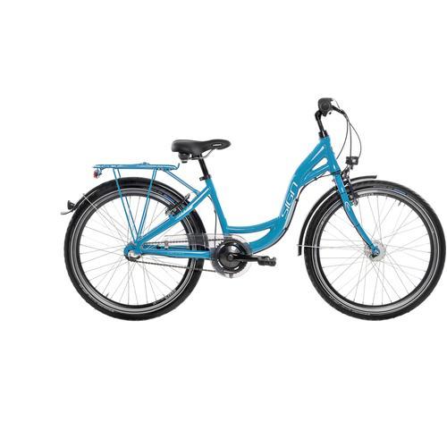 SIGN Jugendfahrrad, 3 Gang, Shimano, NEXUS SG-3C41 Schaltwerk blau Kinder Kinderfahrräder Fahrräder Zubehör Jugendfahrrad