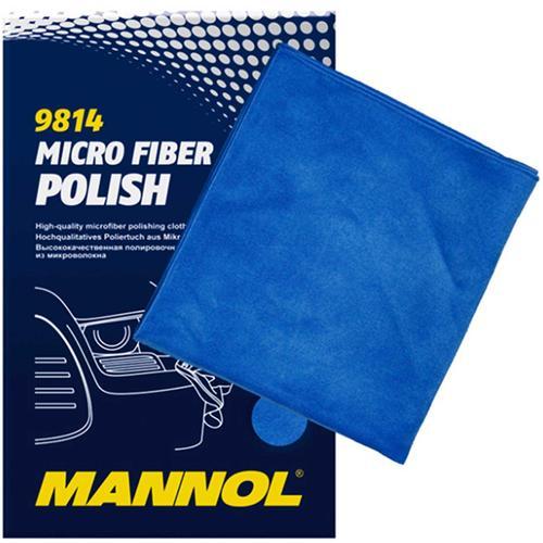 Mannol Mikrofaser-polier-tuch Micro Fiber Polish Trockentuch Kfz Auto 330x360 Mm Manol: 9814