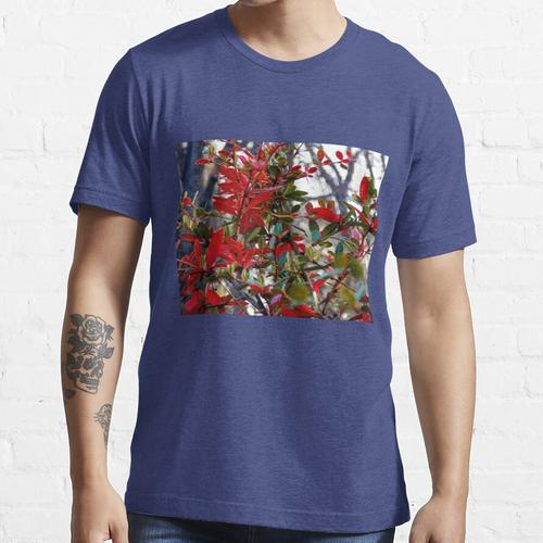 Blutroter Dornbusch Essential T-Shirt